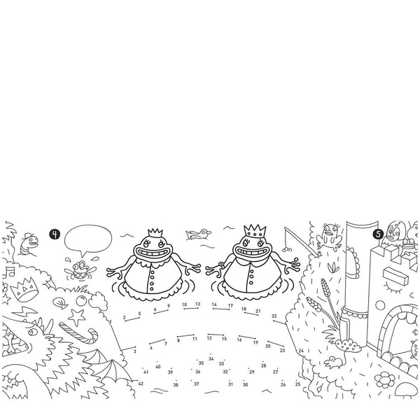 Omy: Colouring In Pocket Games: Magic - Luxe Gifts™  - 2