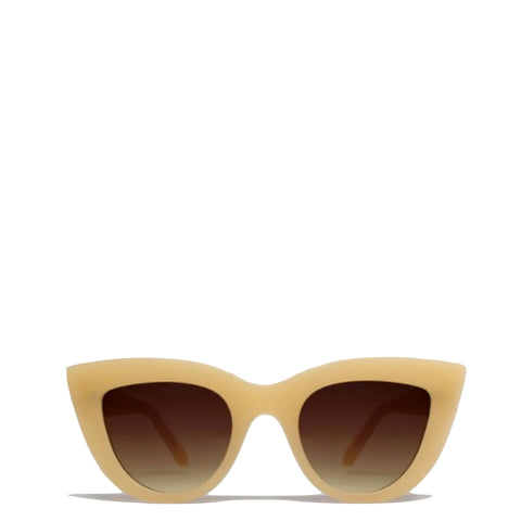 QUAY Australia: Kitti Sunglasses in Beige - Luxe Gifts™