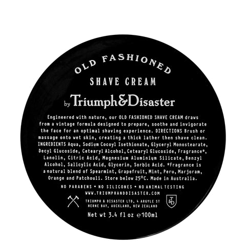 Triumph and Disaster: Old Fashioned Shave Cream Jar - Luxe Gifts™