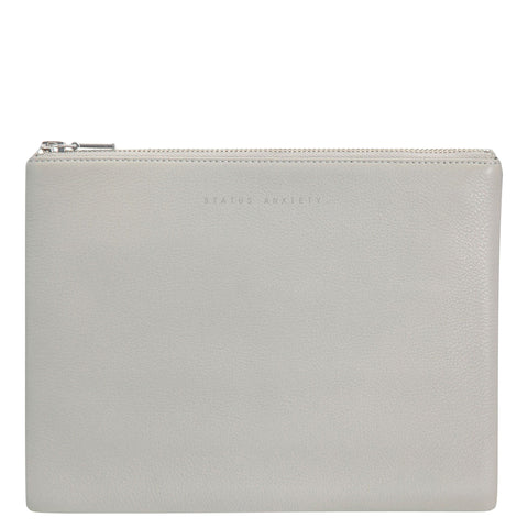 Status Anxiety: Anti Heroine Clutch Grey - Luxe Gifts™  - 1