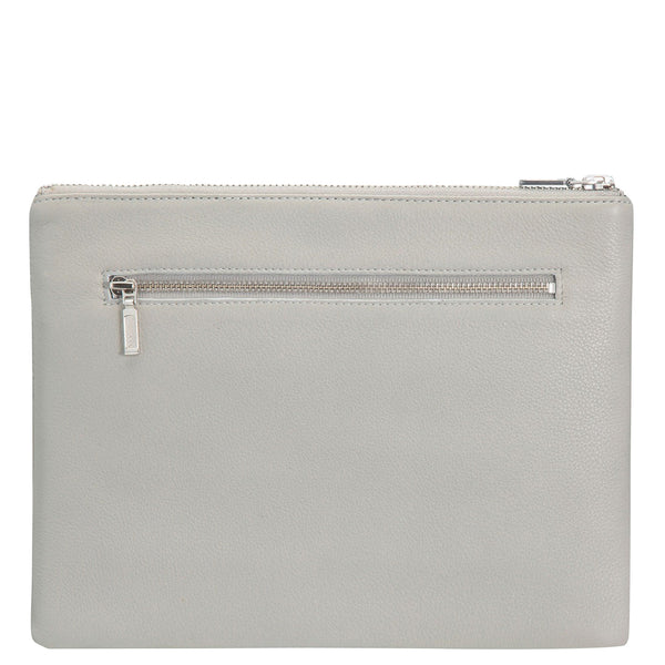 Status Anxiety: Anti Heroine Clutch Grey - Luxe Gifts™  - 2