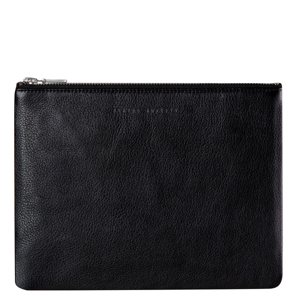 Status Anxiety: Anti Heroine Clutch Black - Luxe Gifts™  - 1