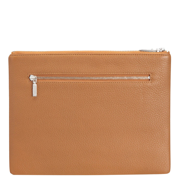 Status Anxiety: Anti Heroine Clutch Tan - Luxe Gifts™  - 2