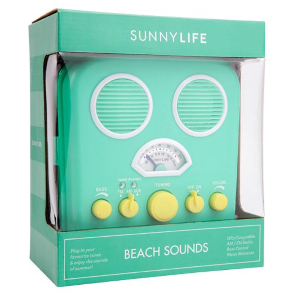 Sunnylife: Beach Sounds Biscay Green - Luxe Gifts™  - 2