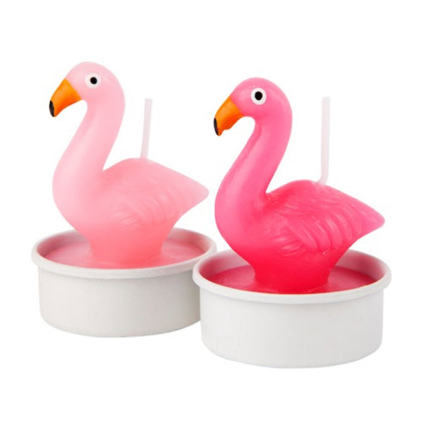 Sunnylife: Flamingo Tealight Candle 6 Set - Luxe Gifts™  - 3