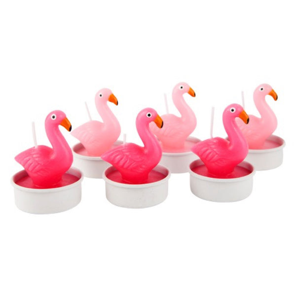 Sunnylife: Flamingo Tealight Candle 6 Set - Luxe Gifts™  - 1