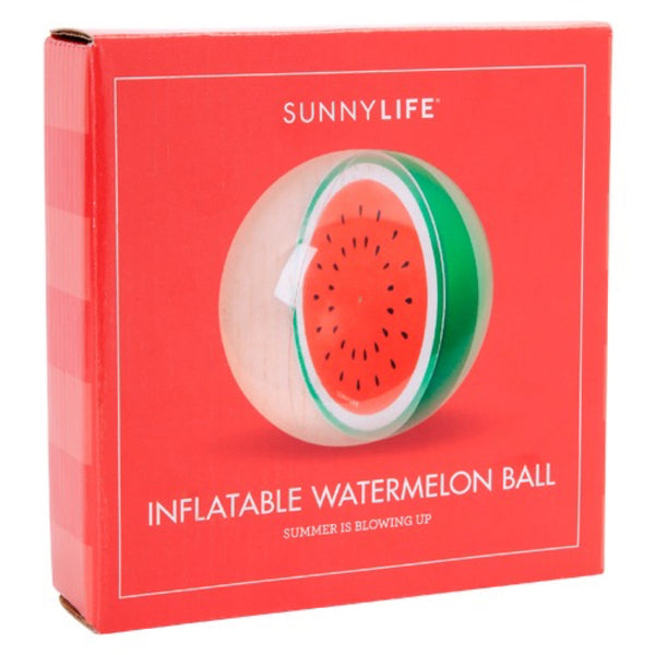 Sunnylife: Inflatable Watermelon Ball - Luxe Gifts™  - 3