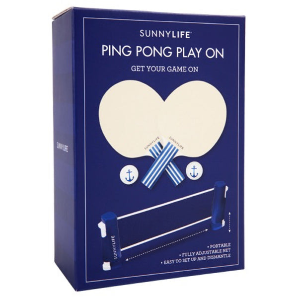 Sunnylife: Ping Pong Play On Anchor - Luxe Gifts™  - 2