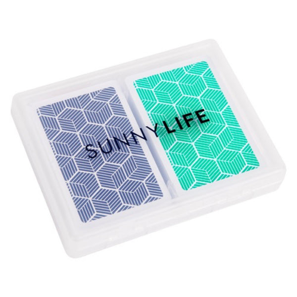 Sunnylife: Playing Cards 2 Set Lennox - Luxe Gifts™  - 1