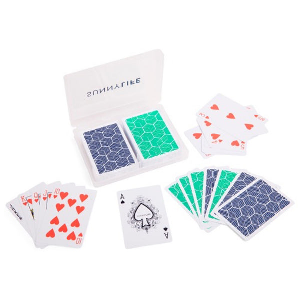 Sunnylife: Playing Cards 2 Set Lennox - Luxe Gifts™  - 2