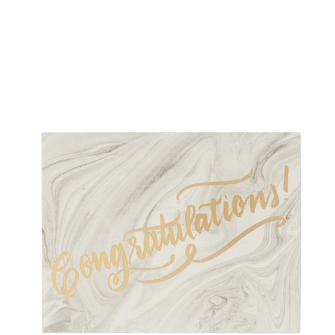 The Social Type: Congrats Marble - Luxe Gifts™  - 1