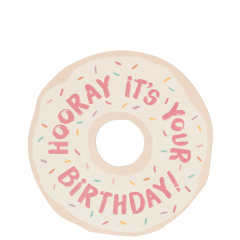 The Social Type: Donut Birthday Card - Luxe Gifts™  - 1
