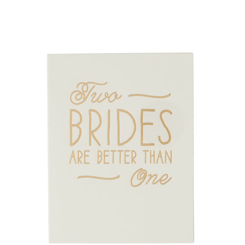 The Social Type: Two Brides Are Better Than One - Luxe Gifts™  - 1