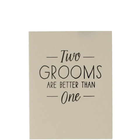 The Social Type: Two Grooms Are Better Than One - Luxe Gifts™  - 1