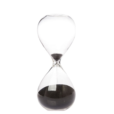 Zakkia: Hourglass Black Large - Luxe Gifts™  - 1