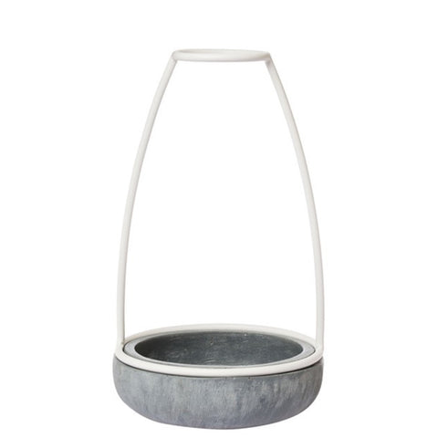 Zakkia: Ghost Concrete Vase Medium - Luxe Gifts™  - 1