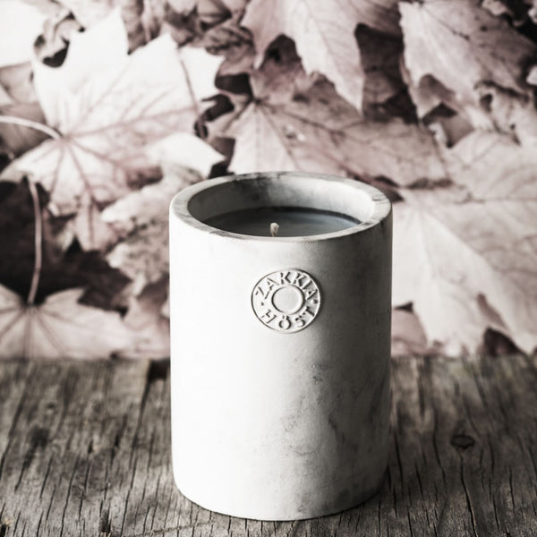 Zakkia: Host Concrete Candle - Luxe Gifts™  - 2