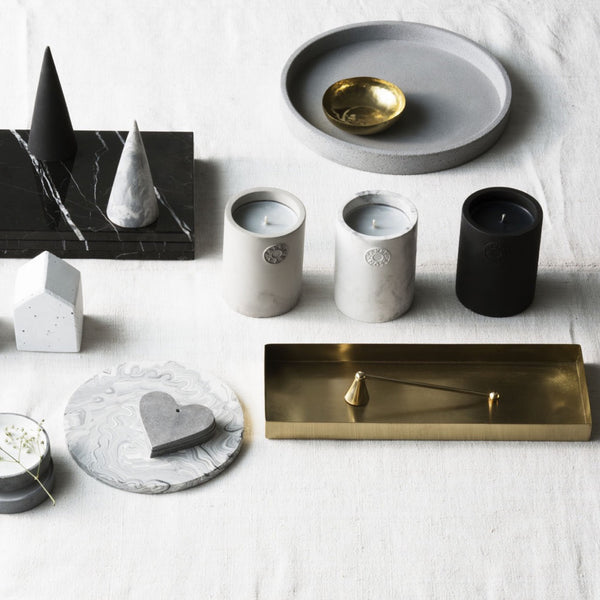 Zakkia: Host Concrete Candle - Luxe Gifts™  - 3