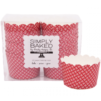 Simply Baked Jumbo Paper Baking Cups 20/box