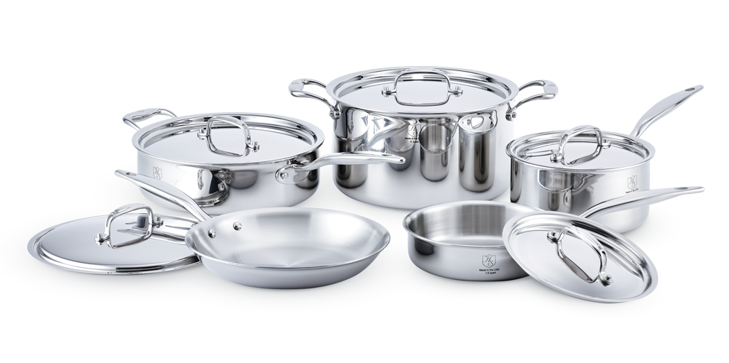 Hammer Stahl 10 Piece Cookware Set