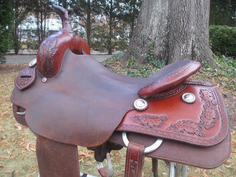 Ron Clark Cutting Saddle