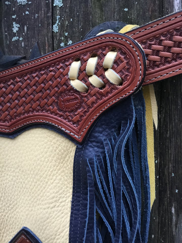 New K Bar J Rodeo Chaps
