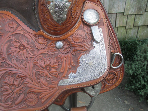 Billy Cook Show Saddle