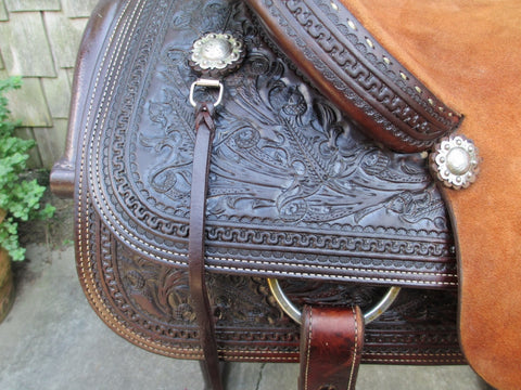 Marty Byrd Roping Saddle