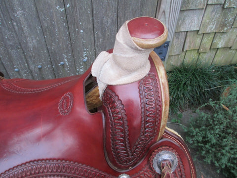 Used Anders Saddlery A Fork Roping Saddle Ranch Saddle