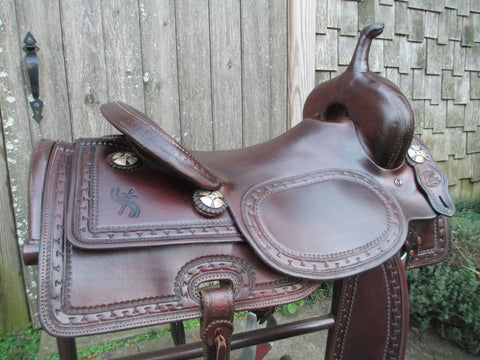 Joey Jemison Cutting Saddle