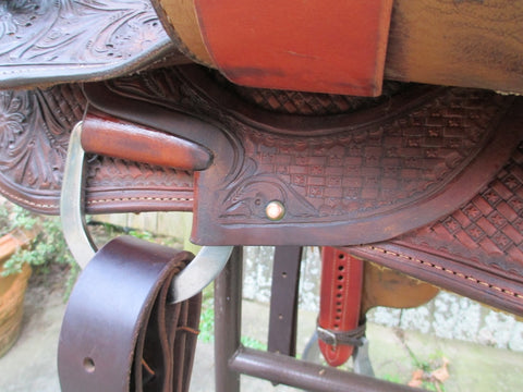 Jim Taylor Reining Saddle