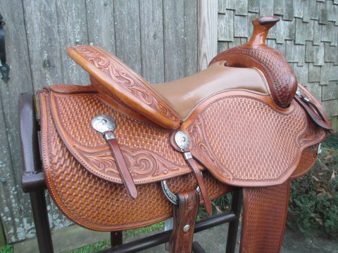 Jeremiah Watt Cowhorse Saddle