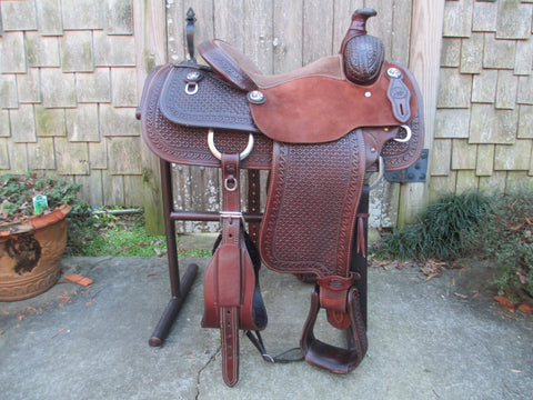 Coats Calf Roping Saddle