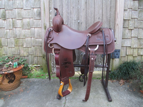 Jeff Smith Cutting Saddle (NEW)