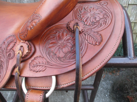 Ashley Schildknecht Wade Roping Ranch Saddle