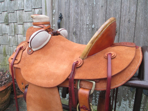 McCall Northwest Wade Roping Saddle