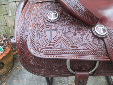 J & S Saddlery Cutting Saddle