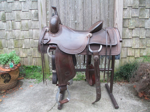 Cowperson Tack Cutting Saddle