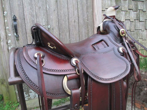 "Sawtooth Saddlery ""Taylor"" Roping Ranch Saddle"
