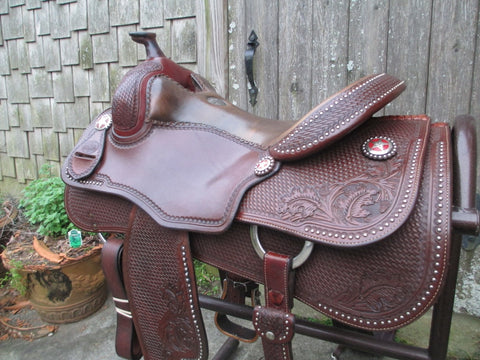 Martin Saddlery Reining Saddle With Extras