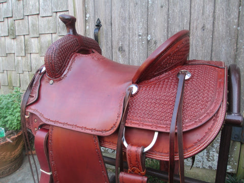 Marty Byrd Ranch Saddle