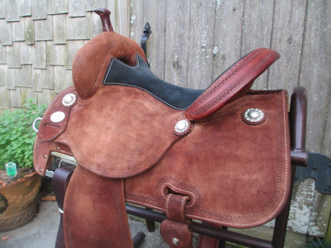Martin Crown C Barrel Saddle
