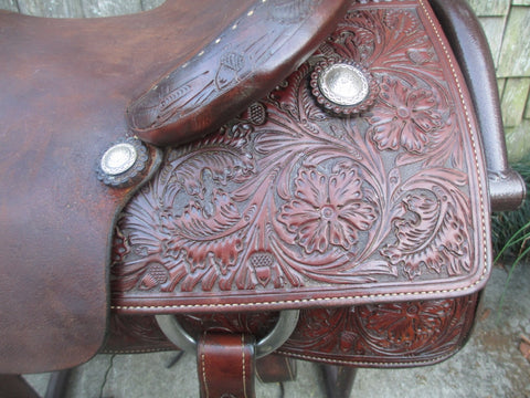 Dale Martin Cutting Saddle