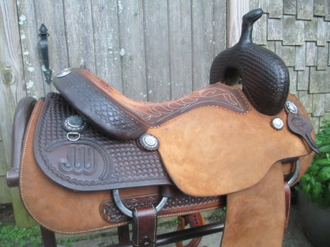 Bruce Cheaney Cutting Saddle