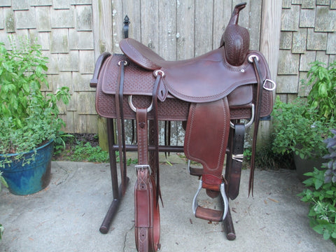 Martin Saddlery Matt Gaines Cutting Saddle