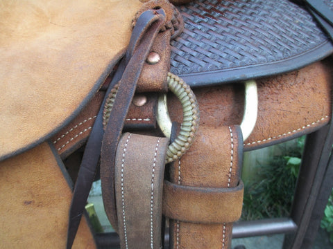Steve Mecum Wade Roping Saddle