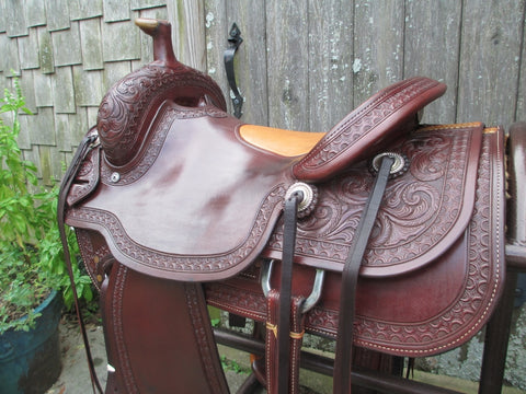 M L Leddy Ranch Roper Saddle