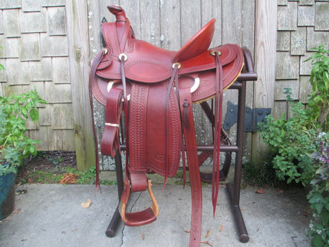A. C. Byrne (Old Pueblo Saddle Co.) A Fork Roping Saddle