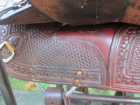 "Sean Ryon ""Lady's"" Cutting Saddle"