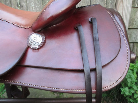 Bob's Four Peaks Reining, Trail, Work Saddle